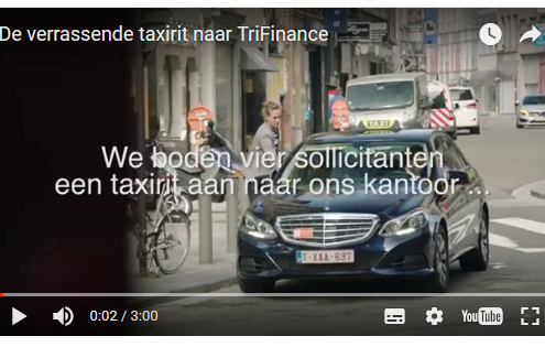 sollicitatie taxi